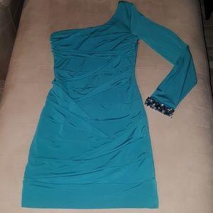 Dresses & Skirts - One Shoulder Mini Dress